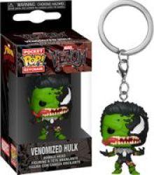Funko Pop Keychain - Marvel Venomized Hulk