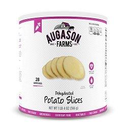 Augason Farms Dehydrated Potato Slices 1 Lb 4 Oz No. 10 Can
