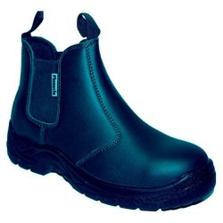 PINNACLE Austra Safety Boots - Chelsea Black SIZE-4