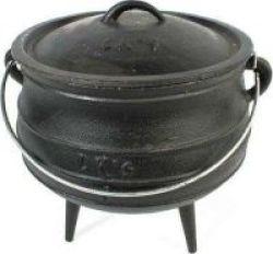 Lks Inc Lk& 39 S Cast Iron Small Potjie 0.35l