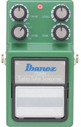 Ibanez TS9DX Tube Screamer Electric Guitar Overdrive Pedal