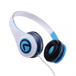 Amplify Headphones Freestylers in Blue & White