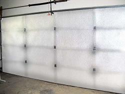 Reflective White Foam Core Garage Door Insulation Kit 8L X 7H