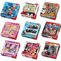 TREFL 4-IN-1 Puzzle Set