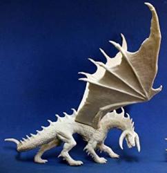 Reaper Ebonwrath Dragon 1 Miniature