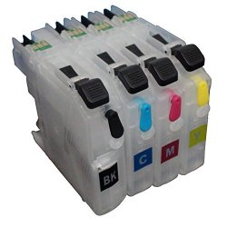 Promiseink Ceye For Brother MFC-J460DW J480DW J485DW J680DW Empty Refillable Ink Cartridge LC203