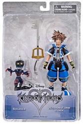 Kingdom Hearts Disney Wisdom Form Sora & Soldier Exclusive Action Figure 2-PACK