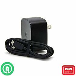 Turbo Fast Powered 15W Wall Charging Kit Works For Huawei Y3 II With Quick Charge 2.0 USB 1M 3.3FT Microusb Cable