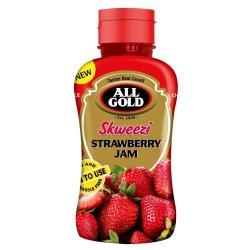 All Gold Skweezi Jam Strawberry 460 G