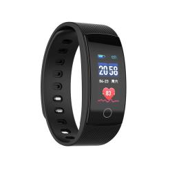 QS80 Plus 0.96 Inches Tft Color Screen Smart Bracelet IP67 Waterproof Support Call Reminder heart Rate Monitoring sleep Monitoring blood Pressure Monitoring sedentary Reminder Black