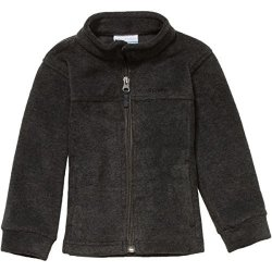 Columbia Children's Apparel Columbia Little Boys' Toddler Steens Mt II Fleece Jacket Charcoal Heather 3T