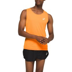 ASICS Men's Orange Singlet Run Vest