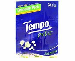 Tempo Petit Pocket Tissue Jasmine 72 Packs Hong Kong Version