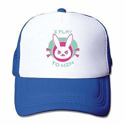 HuaXuAgr D Bunny D.va Mesh Hat Black