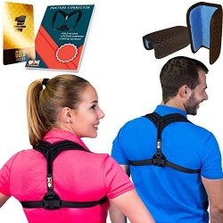 Posture Corrector For Women & Men Adjustable Posture Brace For Improve Bad Posture Thoracic Kyphosis Brace Posture Support