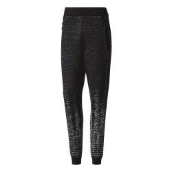 Adidas Women's Pulse Knit Pants in Black & Grey