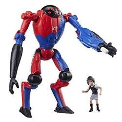 "EWarehouse Spider-man: Into The Spider-verse Sp dr & Peni Parker 6""-SCALE Super Hero Figure Toy"