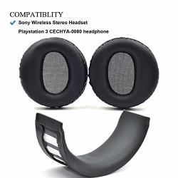 Defean Earpad Repair Parts Suit Replacement Ear Pad And Headband Pad For Sony PS3 PS4 Wireless Stereo Headset CECHYA-0080 Headph