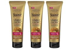 Suave Visible Glow Self Tanning Lotion Pack Of 3