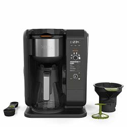Ninja Hot And Cold Brewed System Auto-iq Tea And Coffee Maker With 6 Brew Sizes 5 Brew Styles Frother Coffee & Tea Baskets With Glass Carafe CP301