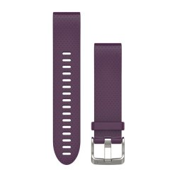 Garmin Quickfit 20mm Silicone Band in Purple