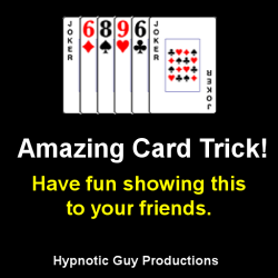 Amazing Card Trick - Easy To Do