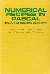 Cambridge University Press Numerical Recipes In Pascal First Edition : The Art Of Scientific Computing