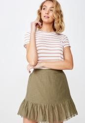 Cotton On The Girlfriend Tee - Stripe Caramel