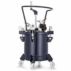 VEVOR Pressure Pot 2.5 Gallon 10 Liters Spray Paint Pressure Pot Tank With Manual Mixing Agitator Paint Tank 2.5GAL Manual