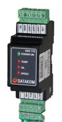 DKG-110 Engine Protection Unit Datakom Manual & Remote Start