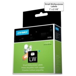 Dymo 30336 Multipurpose Labels 1 X 2 1 8 White 500 BOX By