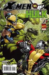 X-men Vs Hulk 1 Nm Wolverine Marvel 2009 More Marvel In Store