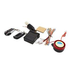 Uxcell Pke Keyless 2-WAY Motorcycle Scooter Anti-theft Alarm System Remote Control Kit
