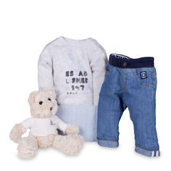 Timberland Baby Denim Jeans Gift Set