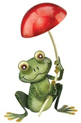 Regal Art And Gift Regal Art & Gift Frog With Mushroom Decor