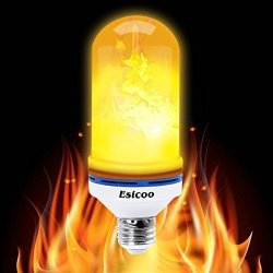 Led Flame Effect.Esicoo Led Flame Lights Flame Effect Light Bulb Flickering Fire Effect Bulb Vintage Atmosphere Simulated Decorative Light For Ou R475 00 Car Parts