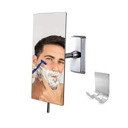 CANOZ-FM-RM01 Fogless Shower Mirror With 360 Degree Rotating Not Need Hot Water