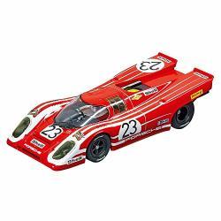 Carrera USA 20027569 Porsche 917K Salzburg NO.23 1970 Evolution Analog Slot Car Racing Vehicle 1:32 Scale Red