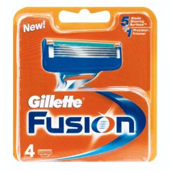 Gillette - Fusion Mens Manual Blades Refill Cartridge Pack 4S