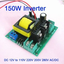 220V AC 150W Inverter Boost Board Transformer Power DC-AC Converter 12V to 110