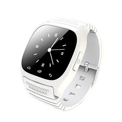 TopePop Fashion Bluetooth Smart Wrist Watch Phone Mate With Dial Music Pedometer For Android Smart P