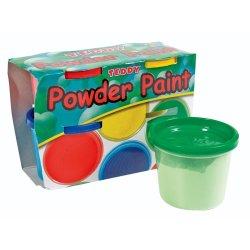 Teddy Powder Paint Set 4 Pack 100 Ml