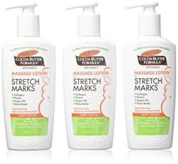 Palmer's Cocoa Butter Formula Massage Lotion For Stretch Marks 8.5 Ounce 3 Pack