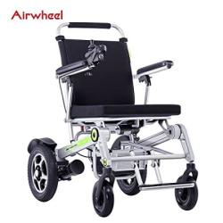 Airwheel H3T Electric Wheelchair - Full Automatic Folding Smart Wheelchair - 30 Miles Range - Weighs Just 65 Lbs - Opens & Folds
