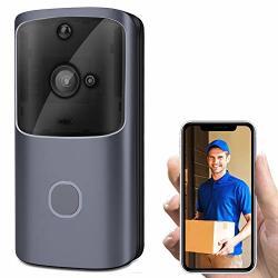 Lfjnet Wireless Wifi Smart Doorbell Ir Video Visual Ring Camera Intercom For Home Security