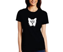 Yorkie Mom T-Shirt - Extra-large