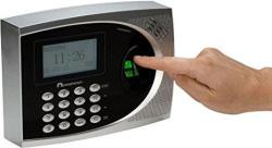 Acroprint 01-0252-000 Model TQ600B Finger-scan Biometric Terminal Only Easy To Read 128X64 Graphical Backlit Lcd Screen Employee