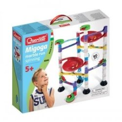 Quercetti Marble Run Spinning - 92 Piece Building Set