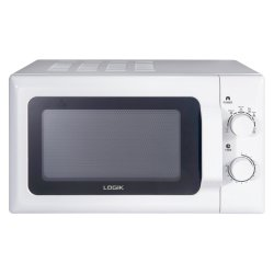 Logik 20l Manual Microwave Oven in White