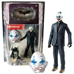 """Mattel Year 2008 Dc Comics Batman Movie Series """"the Dark Knight"""" 6 Inch Tall Action Figure - Gotham City Thug With Crime Scene Evidence Label And Mask"""